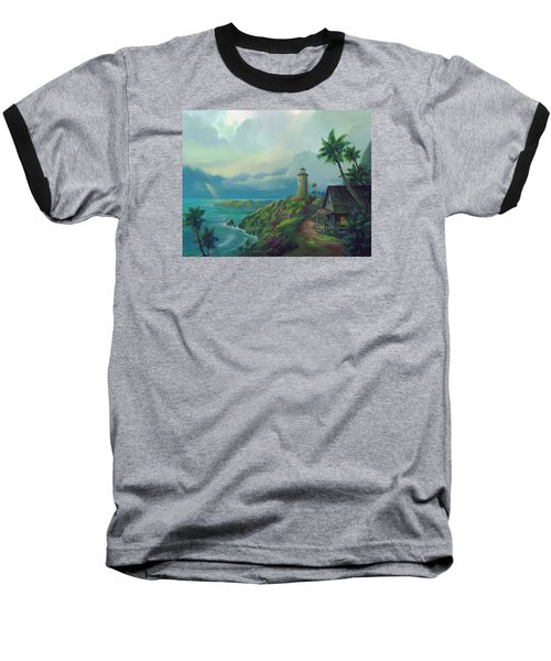 A Small Patch Of Heaven Baseball T-Shirt by Michael Humphries