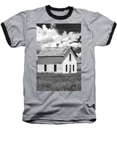 Baseball T-Shirt featuring the photograph Abandoned by Colleen Coccia