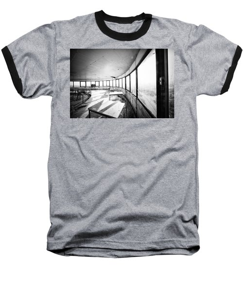 Abandoned Tower Restaurant - Urban Exploration Baseball T-Shirt