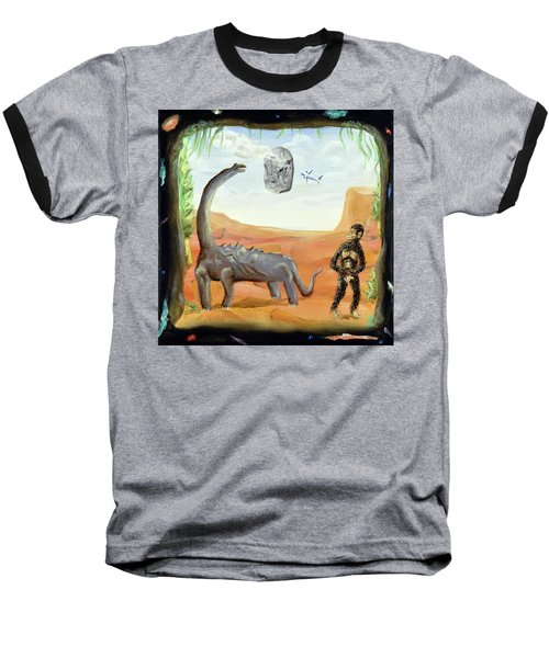 Abiogenesis Baseball T-Shirt