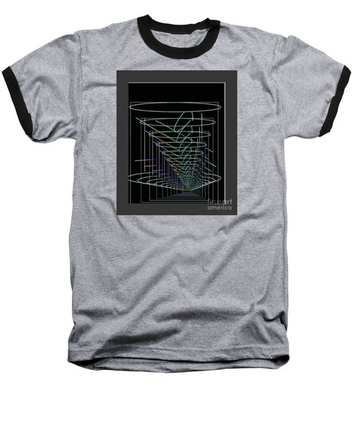 Abstract 13 Baseball T-Shirt