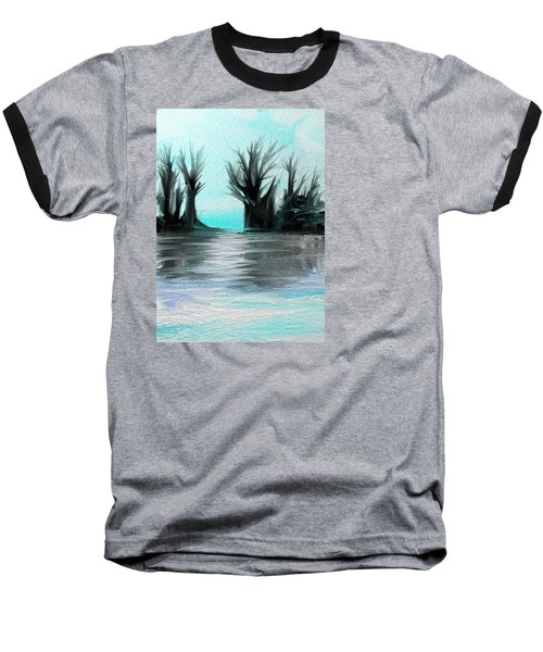 Art Abstract Baseball T-Shirt