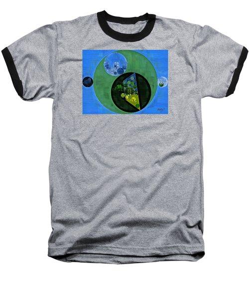 Baseball T-Shirt featuring the digital art Abstract Painting - Amazon by Vitaliy Gladkiy
