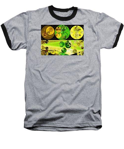 Baseball T-Shirt featuring the digital art Abstract Painting - Starship by Vitaliy Gladkiy