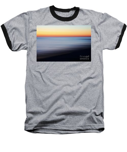 Abstract Sky And Water Baseball T-Shirt