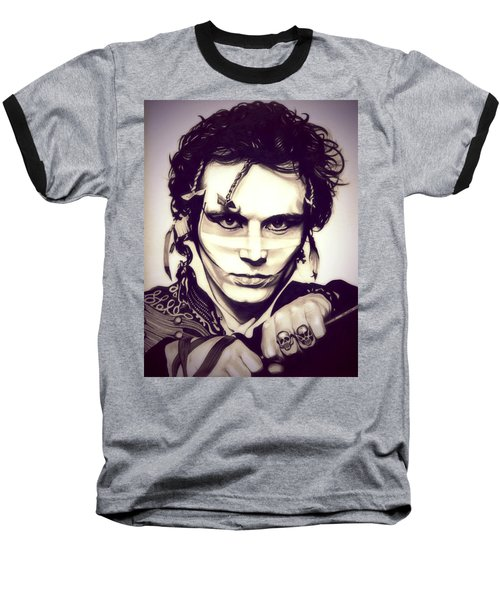 Adam Ant Baseball T-Shirt