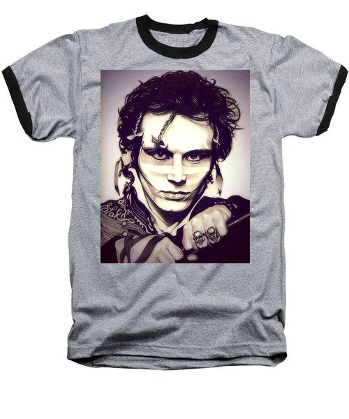 Adam Ant Baseball T-Shirt