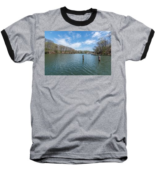 Baseball T-Shirt featuring the photograph Weems Creek Annapolis, Md by Charles Kraus