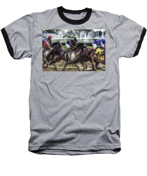 In The Rain Baseball T-Shirt