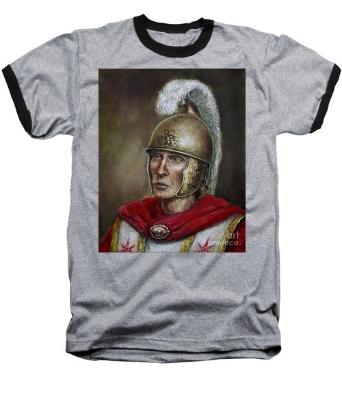 Alexander The Great Baseball T-Shirt by Arturas Slapsys