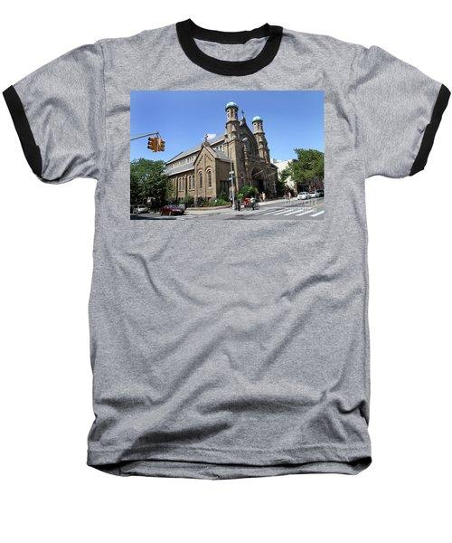 All Saints Episcopal Church Baseball T-Shirt