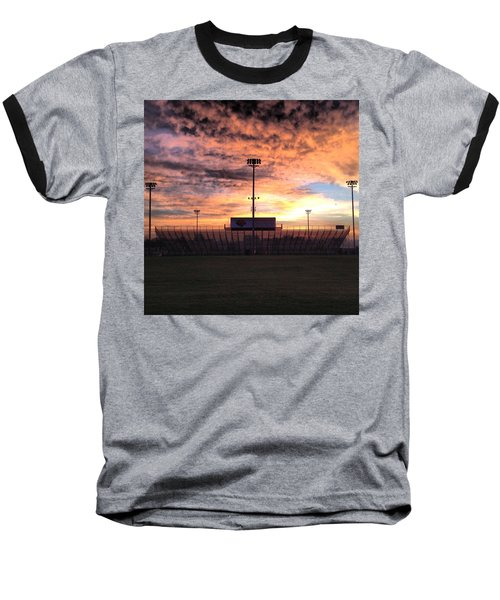Alma High School Don Miller Field Sunrise Bleachers Baseball T-Shirt