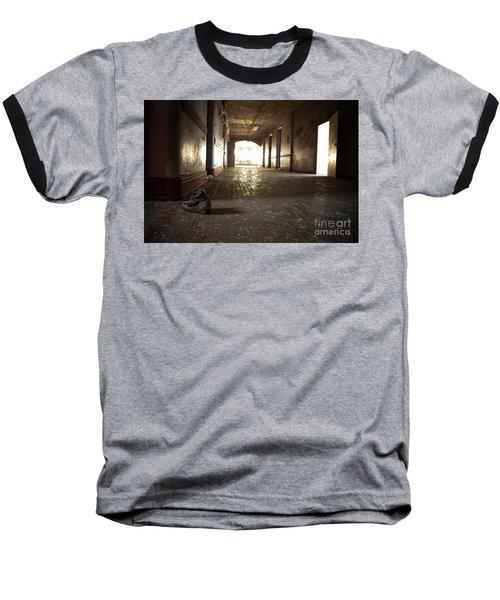Alone Baseball T-Shirt by Randall Cogle