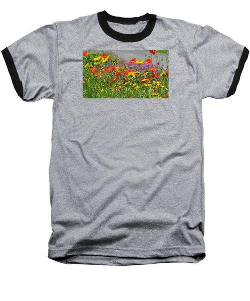 Baseball T-Shirt featuring the photograph Along The Road by Jeanette Oberholtzer