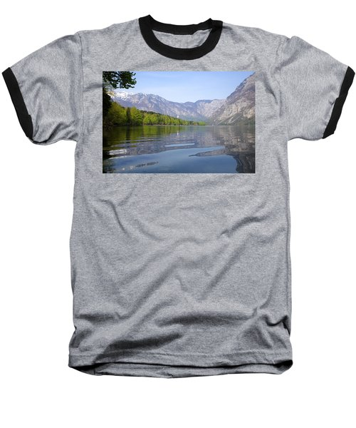Baseball T-Shirt featuring the photograph Alpine Clarity by Ian Middleton