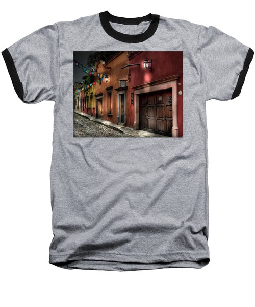 1 A.m. Street Photo Baseball T-Shirt