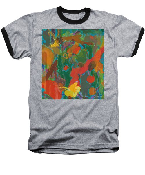 Baseball T-Shirt featuring the painting Amazon by David Klaboe