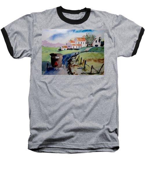 Amish Buggy Ride Baseball T-Shirt