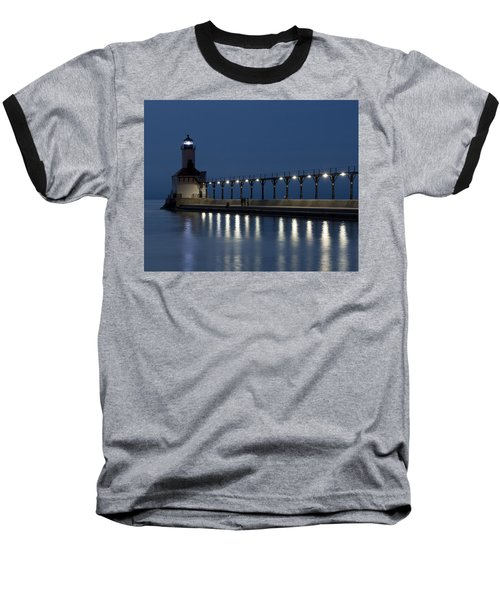 An Evening At The Lighthouse Baseball T-Shirt