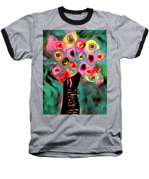 Anemones Baseball T-Shirt