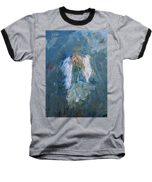 Angel Girl Baseball T-Shirt
