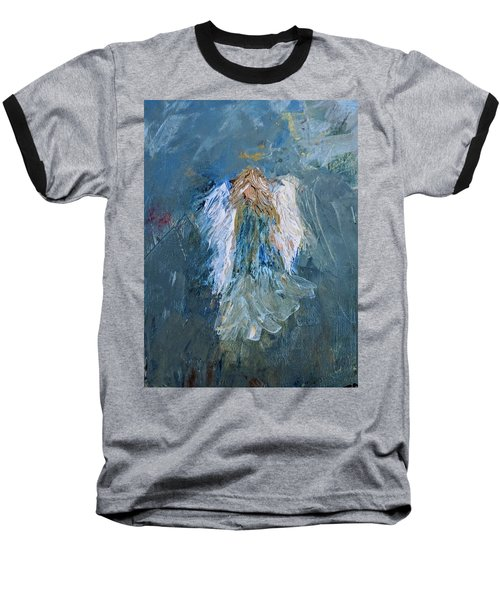 Angel Girl Baseball T-Shirt