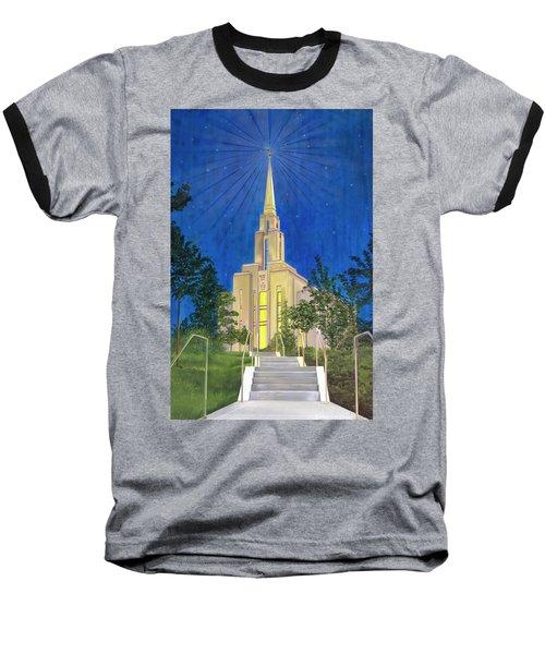 Angel Portal Baseball T-Shirt
