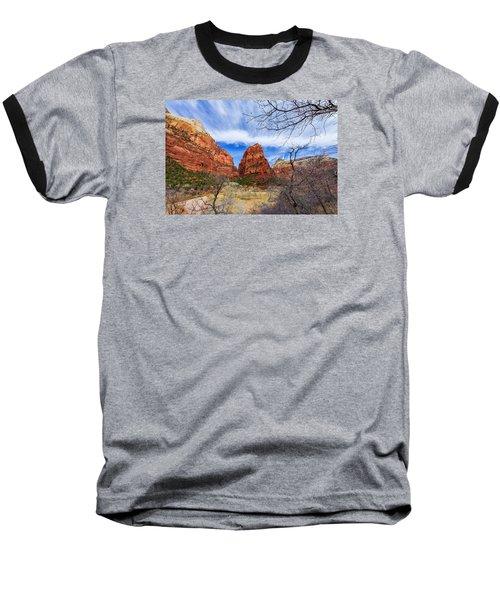 Angels Landing Baseball T-Shirt