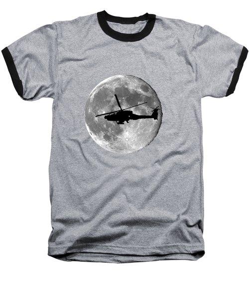 Apache Moon .png Baseball T-Shirt