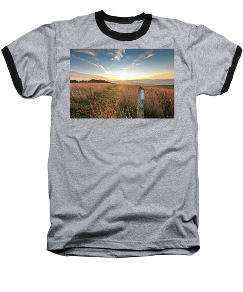 Appalachian Trail Sunrise Baseball T-Shirt
