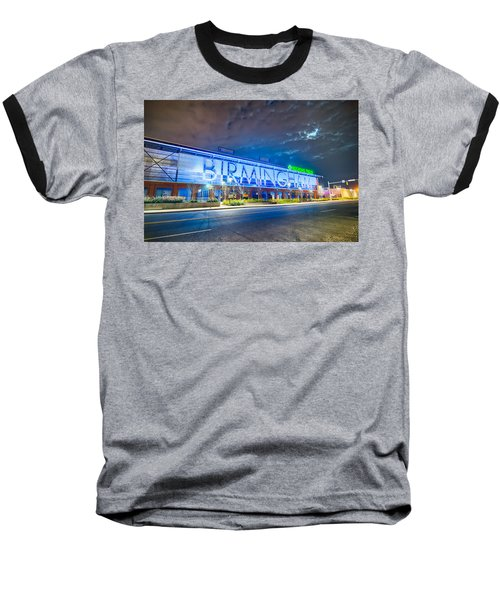 Baseball T-Shirt featuring the photograph April 2015 - Birmingham Alabama Regions Field Minor League Baseb by Alex Grichenko