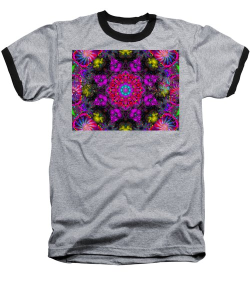 Baseball T-Shirt featuring the digital art April Rain by Robert Orinski