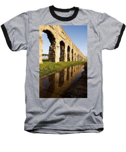 Aqua Claudia Aqueduct Baseball T-Shirt