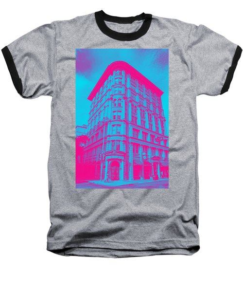 Archtectural Building Baseball T-Shirt