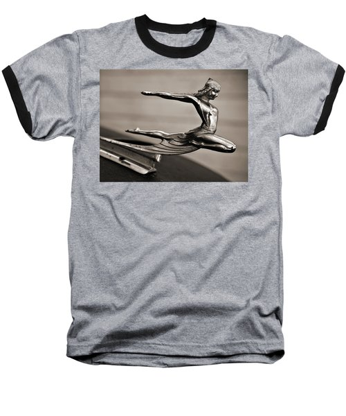 Art Deco Hood Ornament Baseball T-Shirt