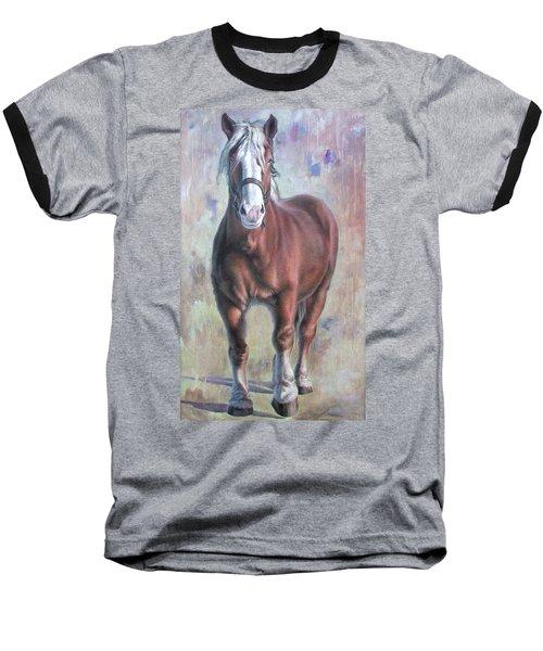 Arthur The Belgian Horse Baseball T-Shirt
