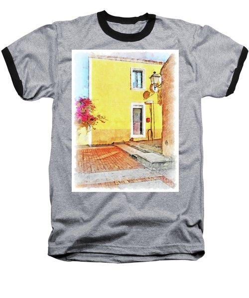 Arzachena Foreshortening Baseball T-Shirt