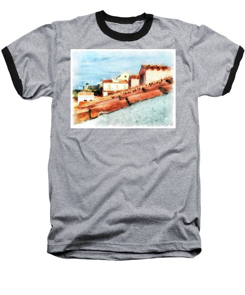 Arzachena Roof And Church Baseball T-Shirt