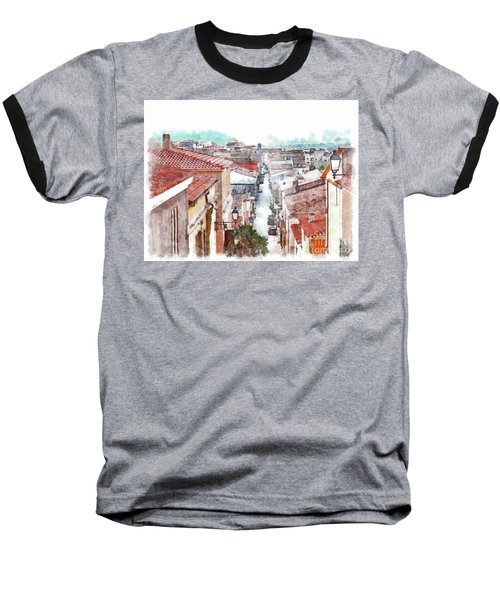 Arzachena View Of The Corso Garibaldi Baseball T-Shirt