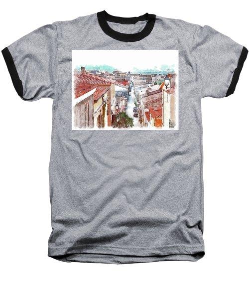 Arzachena View Of The Corso Garibaldi Baseball T-Shirt