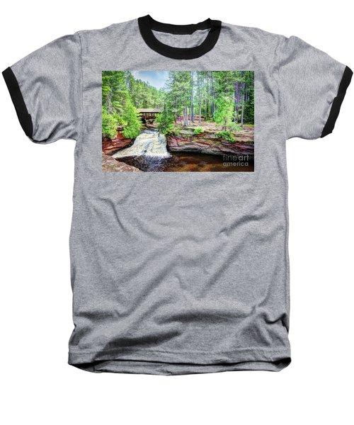As The Water Falls Baseball T-Shirt