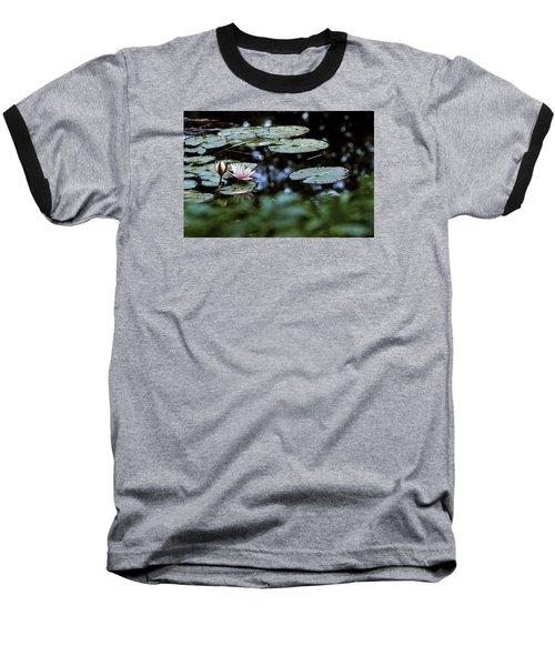 Baseball T-Shirt featuring the photograph At Claude Monet's Water Garden 6 by Dubi Roman