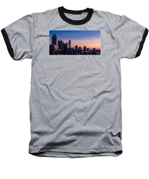 Atlanta Sunset Baseball T-Shirt