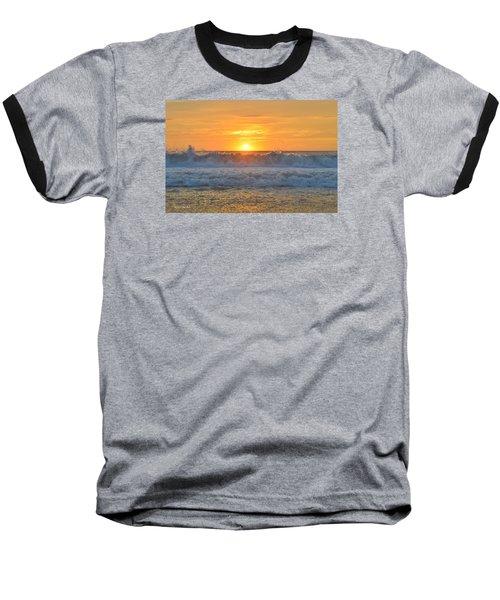 August Sunrise   Baseball T-Shirt