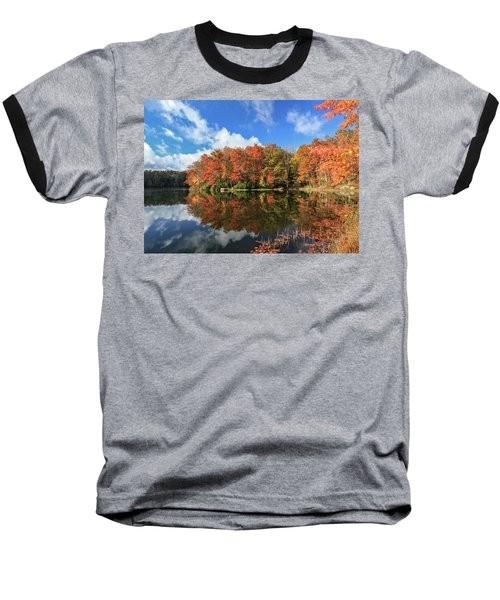 Autumn At Boley Lake Baseball T-Shirt