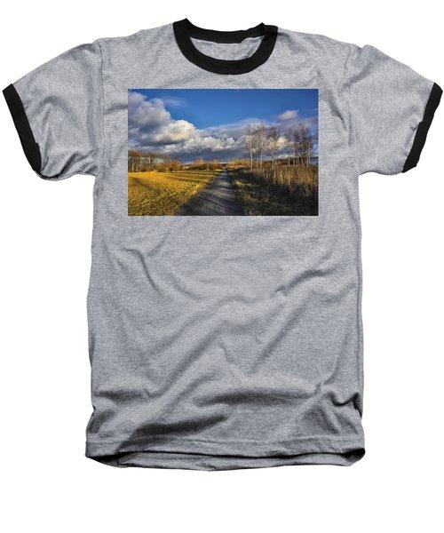Autumn Evening Baseball T-Shirt