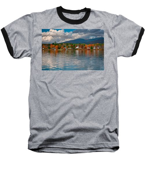 Autumn In Melvin Village Baseball T-Shirt