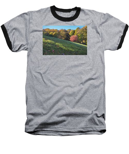 Baseball T-Shirt featuring the photograph Autumn Palette by Tom Singleton