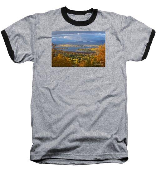 Autumn Splendor Baseball T-Shirt by Alana Ranney