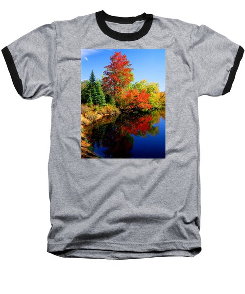 Autumn Splendor Baseball T-Shirt